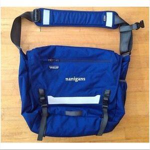 Patagonia Baby Nanigans Navy Blue Messenger Bag